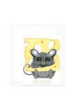 Cheezy Mouse Birthday Greeting Card