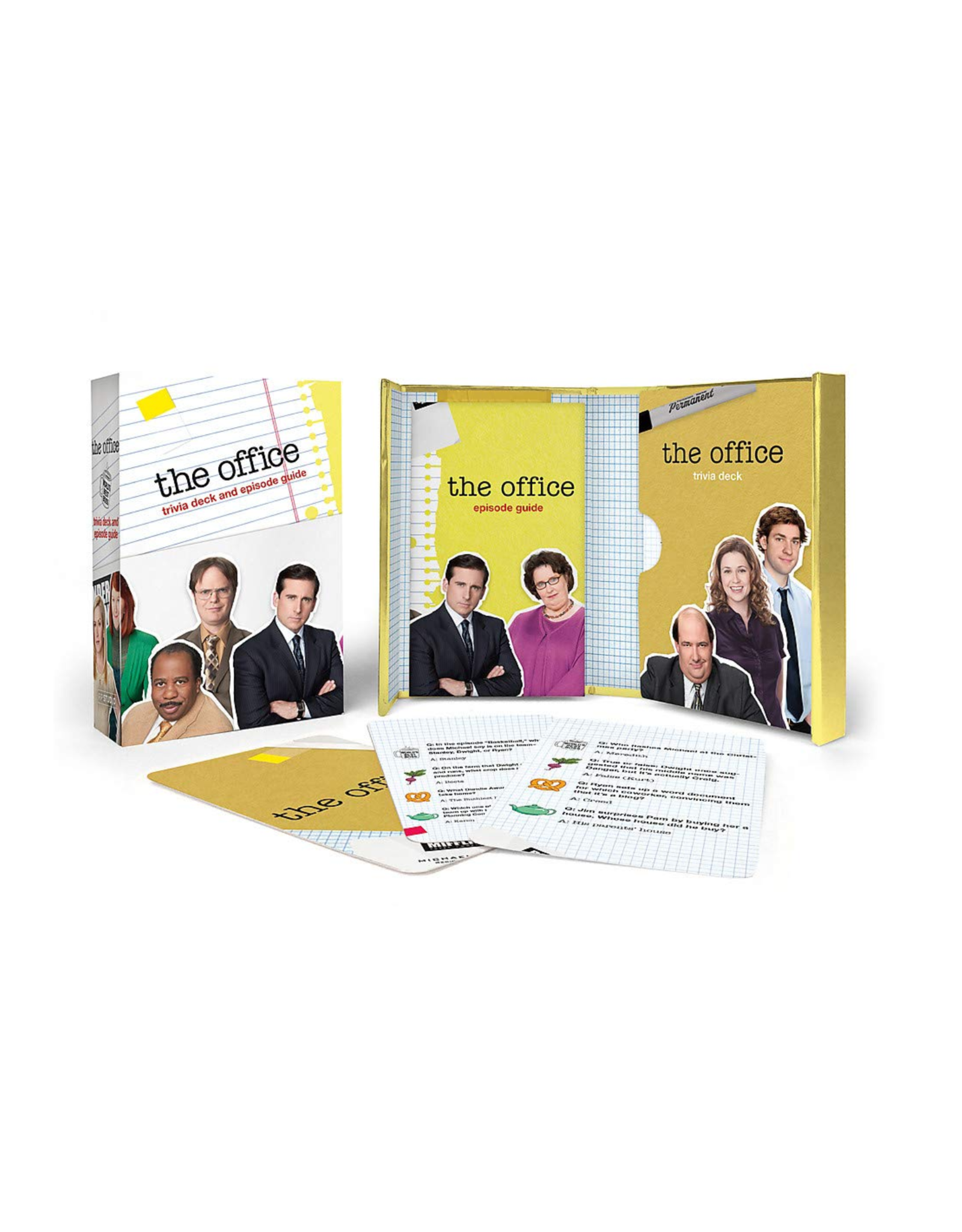 The Office Trivia Deck & Guide