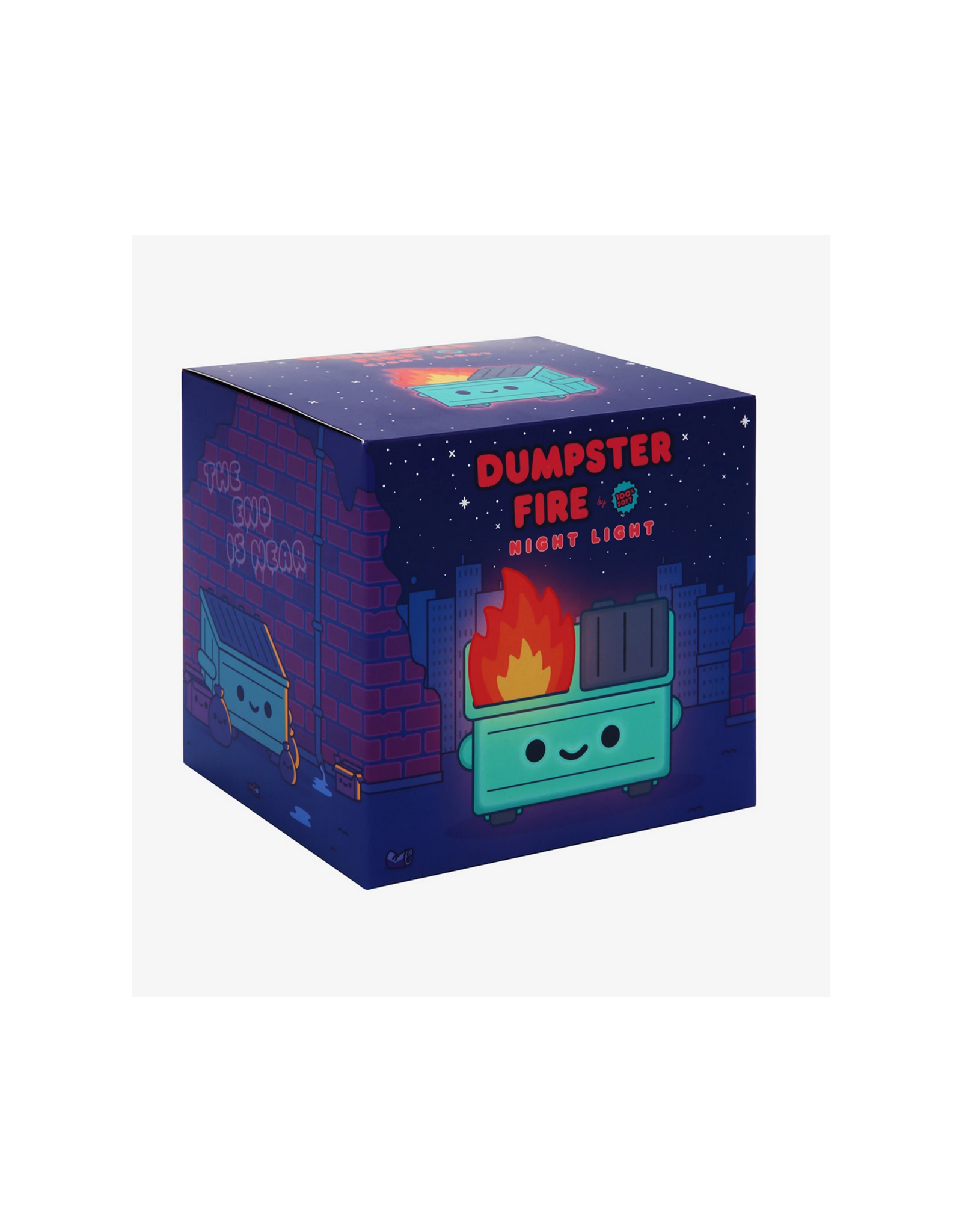 Lil Dumpster Fire Night Light