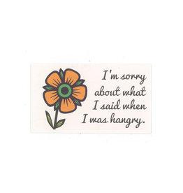 Hangry Mini Card