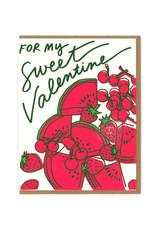 Sweetest Valentine Greeting Card