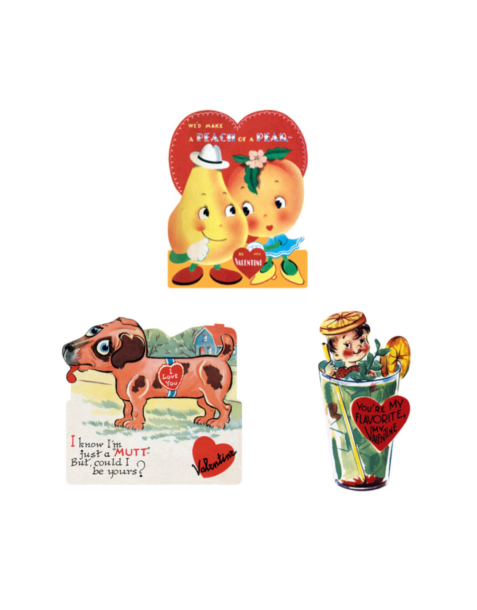 Funny Valentine's - Set of 15