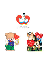 Animal Fun Valentine's - Set of 15