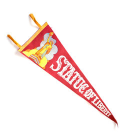Statue of Liberty Vintage Pennant