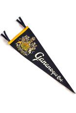 Gananoque, Ontario Vintage Pennant