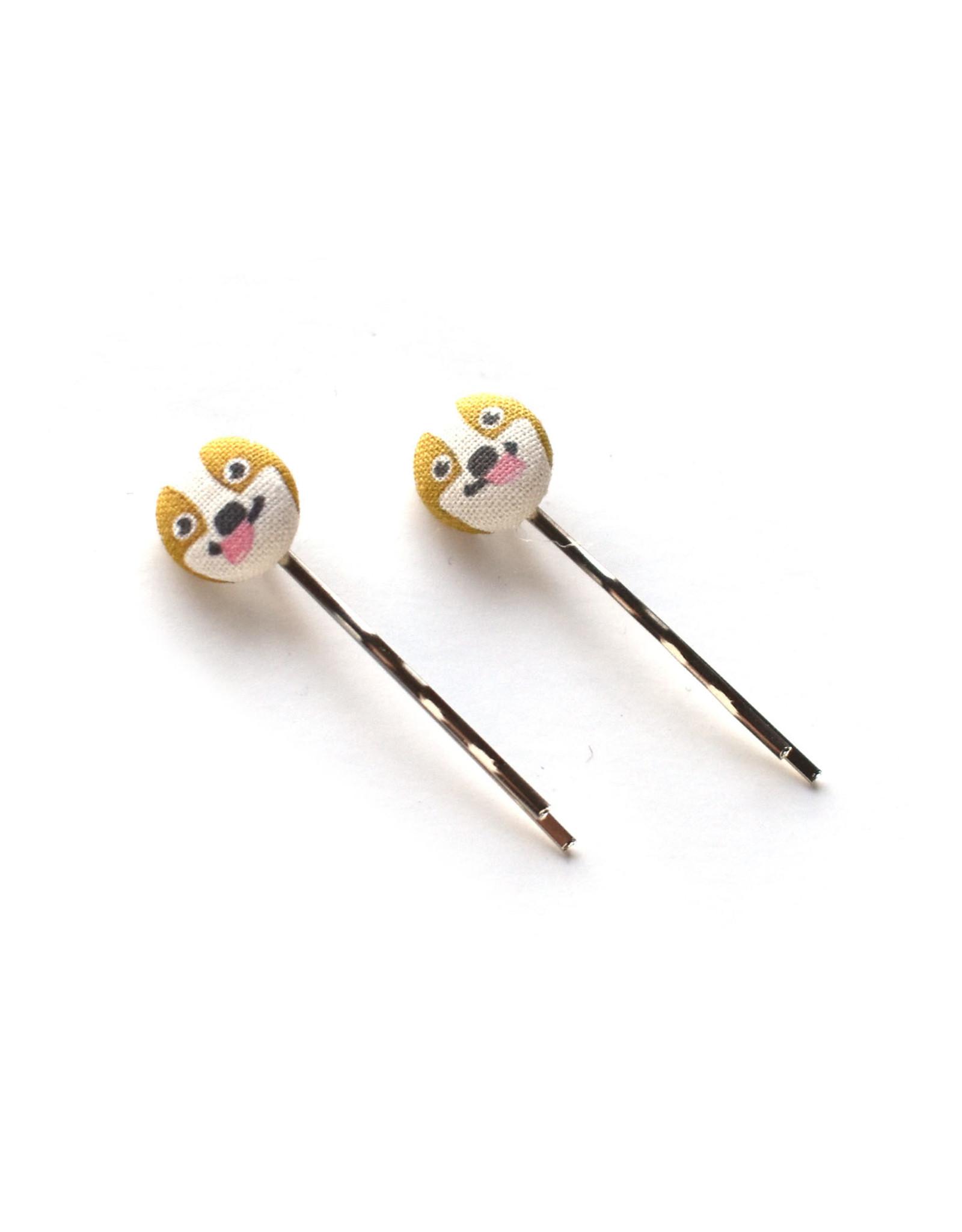 Corgi Hairpins