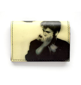 Bifold Leather Wallet - George Michael