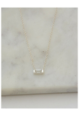 Prism Necklace - Crystal