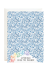 After Rain Comes the Rainbow Greeting Card