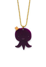Tritapus Necklace - Purple