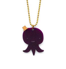 Tritapus Necklace - Purple