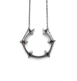Good Luck Tambourine Necklace
