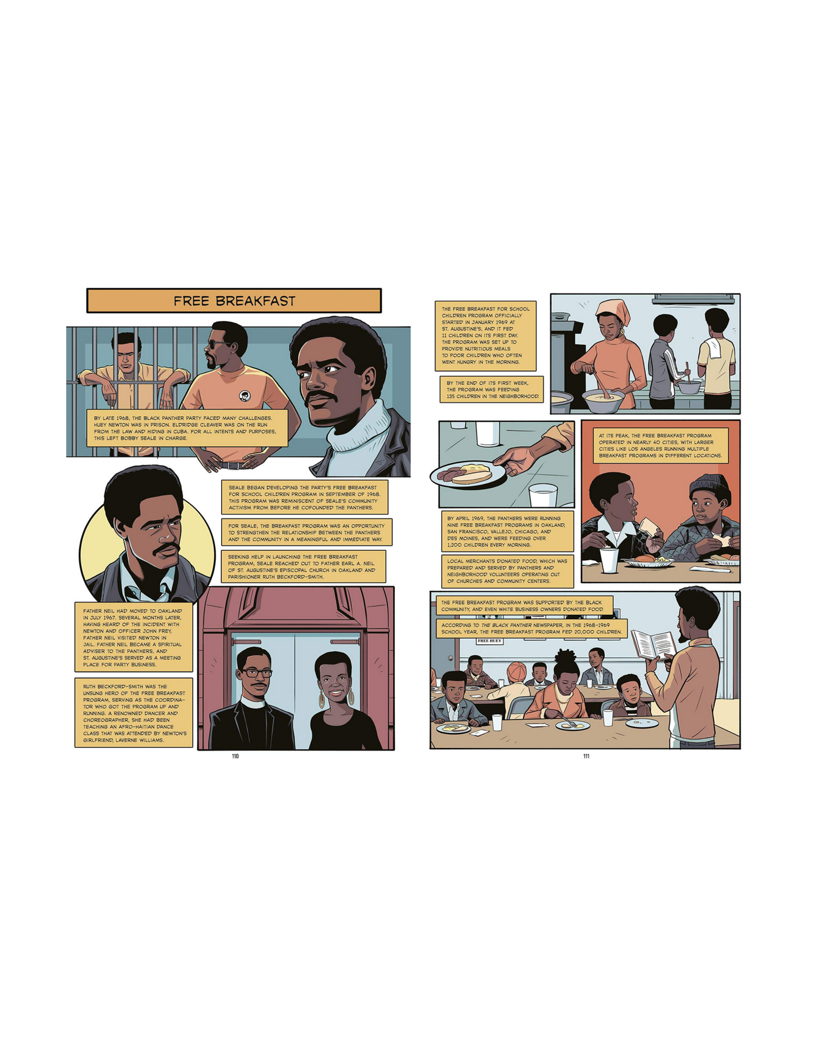 The Black Panther Party Graphic Novel