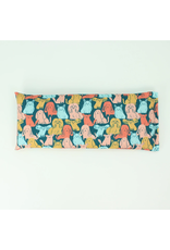Lavender Eye Pillow :  Dogs on Teal