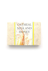 Oatmeal, Milk, and Honey Soap Bar