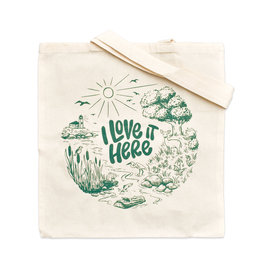 I Love It Here EcoRI Tote
