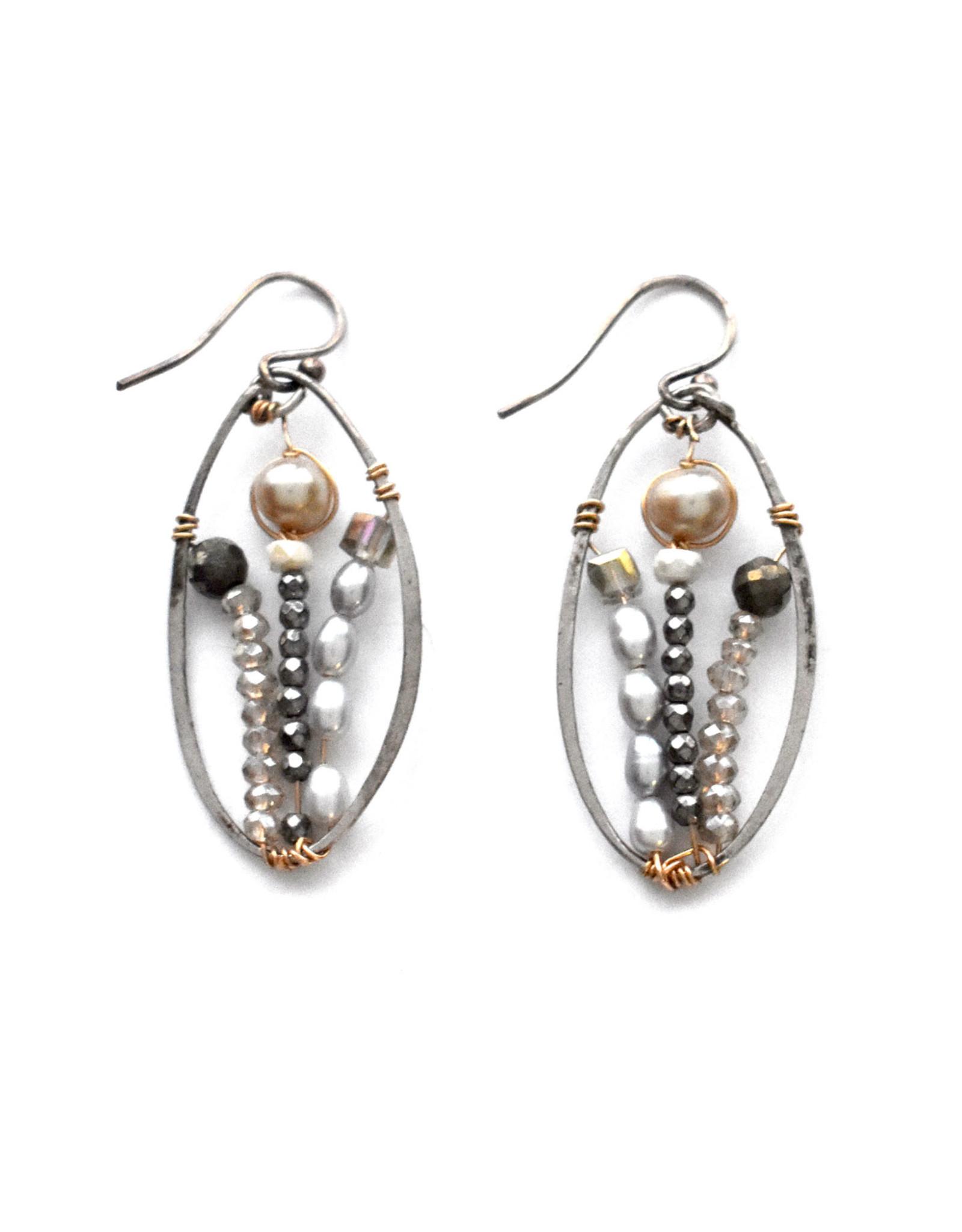 Blanche Garden Earrings