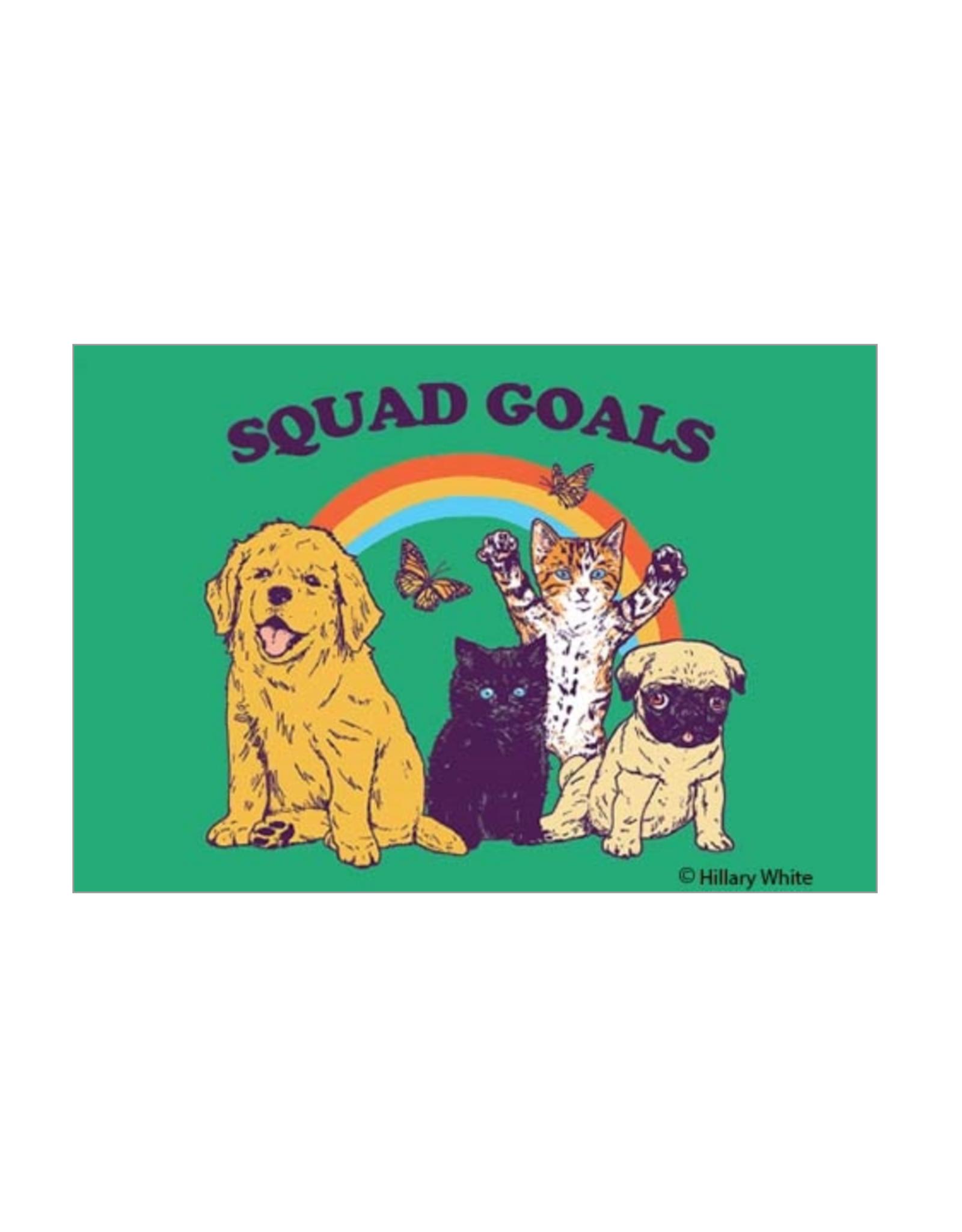Squad Goals Magnet