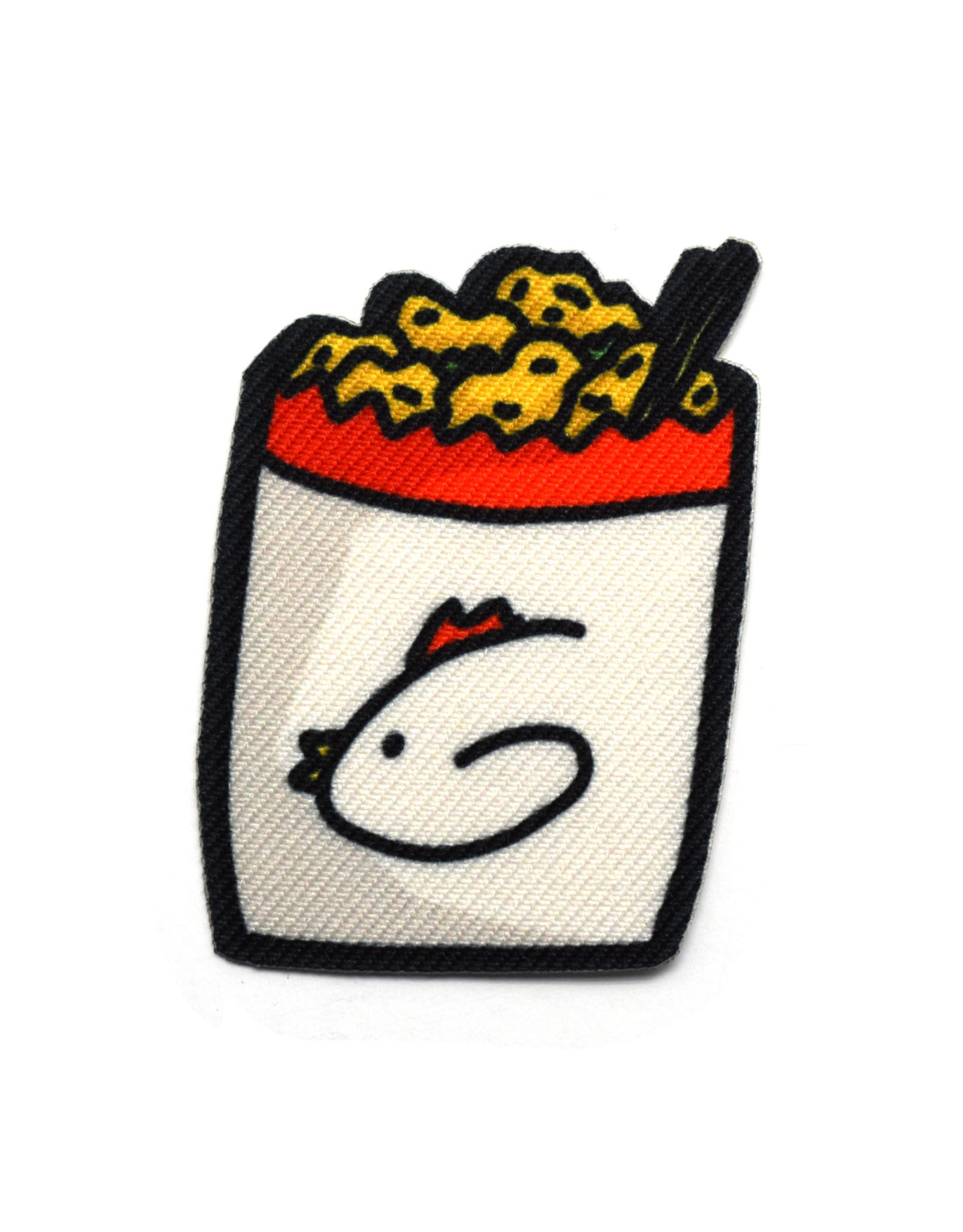 Pepper Popcorn Chicken Sticker Patch