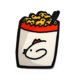 Pepper Popcorn Chicken Sticker Patch