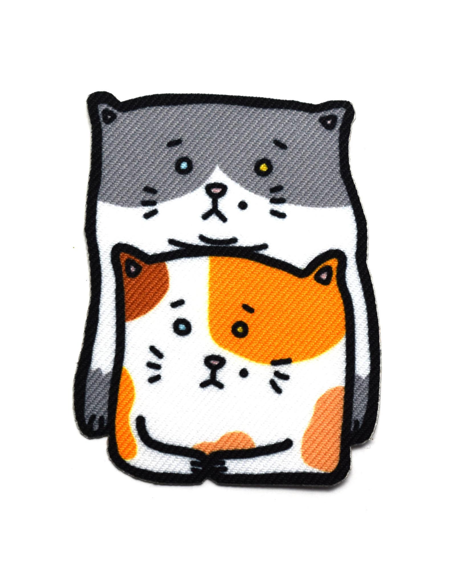 Double Trouble Kitties Sticker Patch