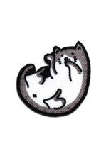 Playful Beth the Tabby Cat Sticker Patch