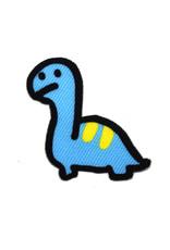 Blueboy the Longneck Dinosaur Sticker Patch