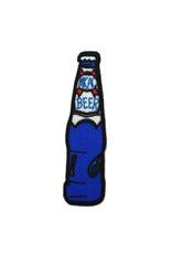 Blue Beer Bottle Sticker Patch