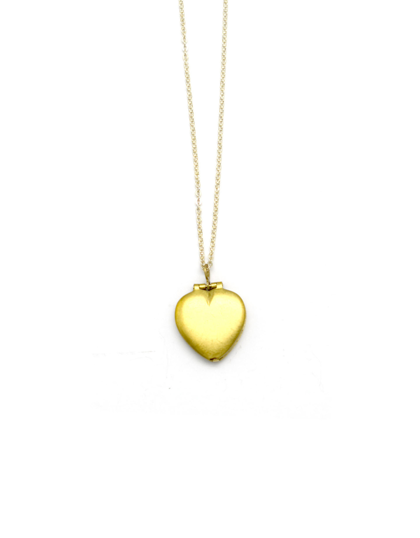 Vintage Heart Locket Necklace