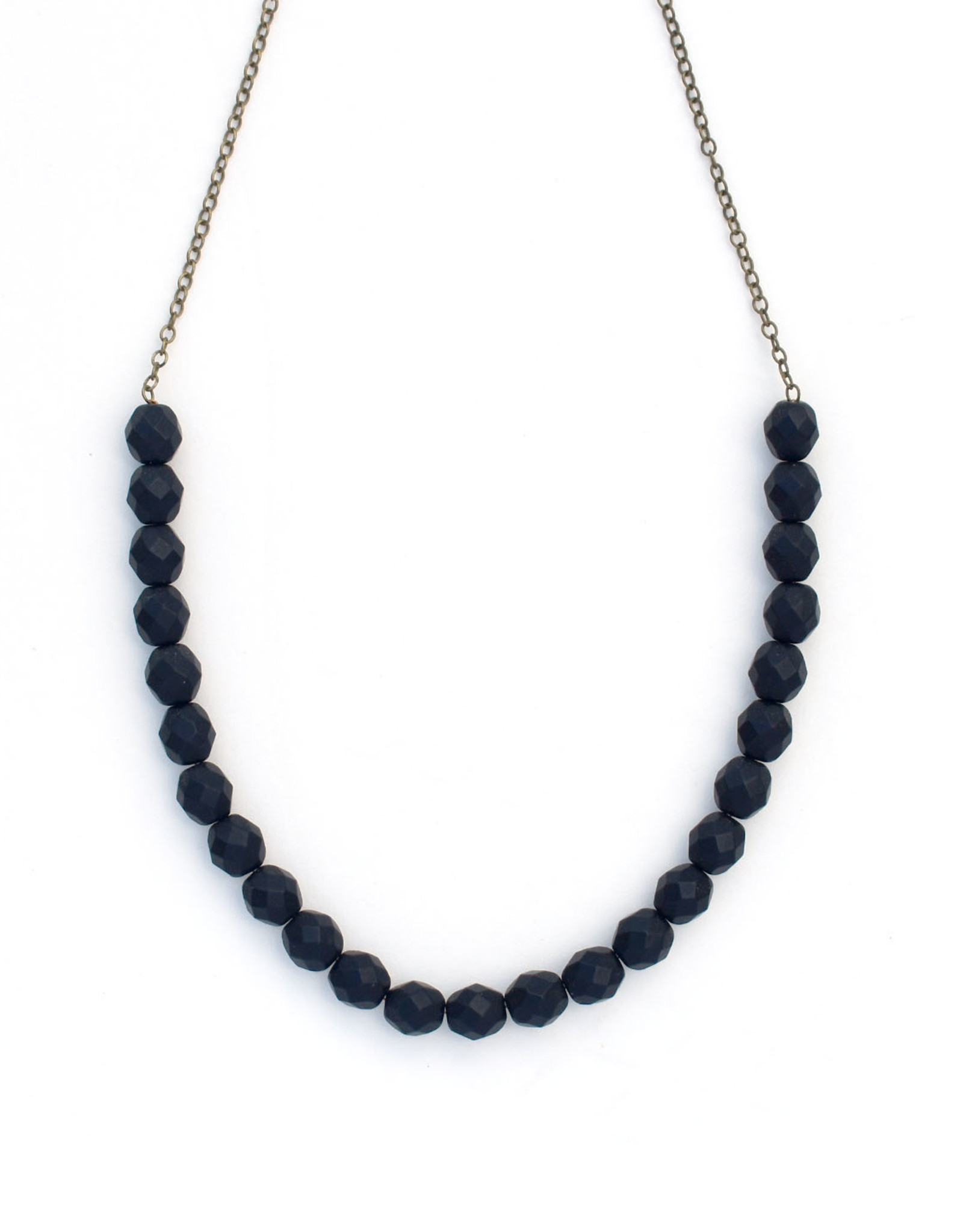 Urban Beaded Necklace Black
