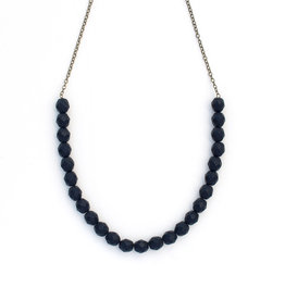 Urban Beaded Necklace Black