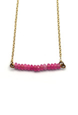 Beaded Line Necklace