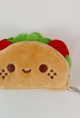 Taco Plush Keychain