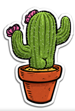 Cactus Butt Sticker