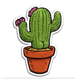 Cactus Butt Sticker