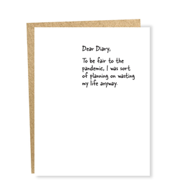 Dear Diary Pandemic Greeting Card