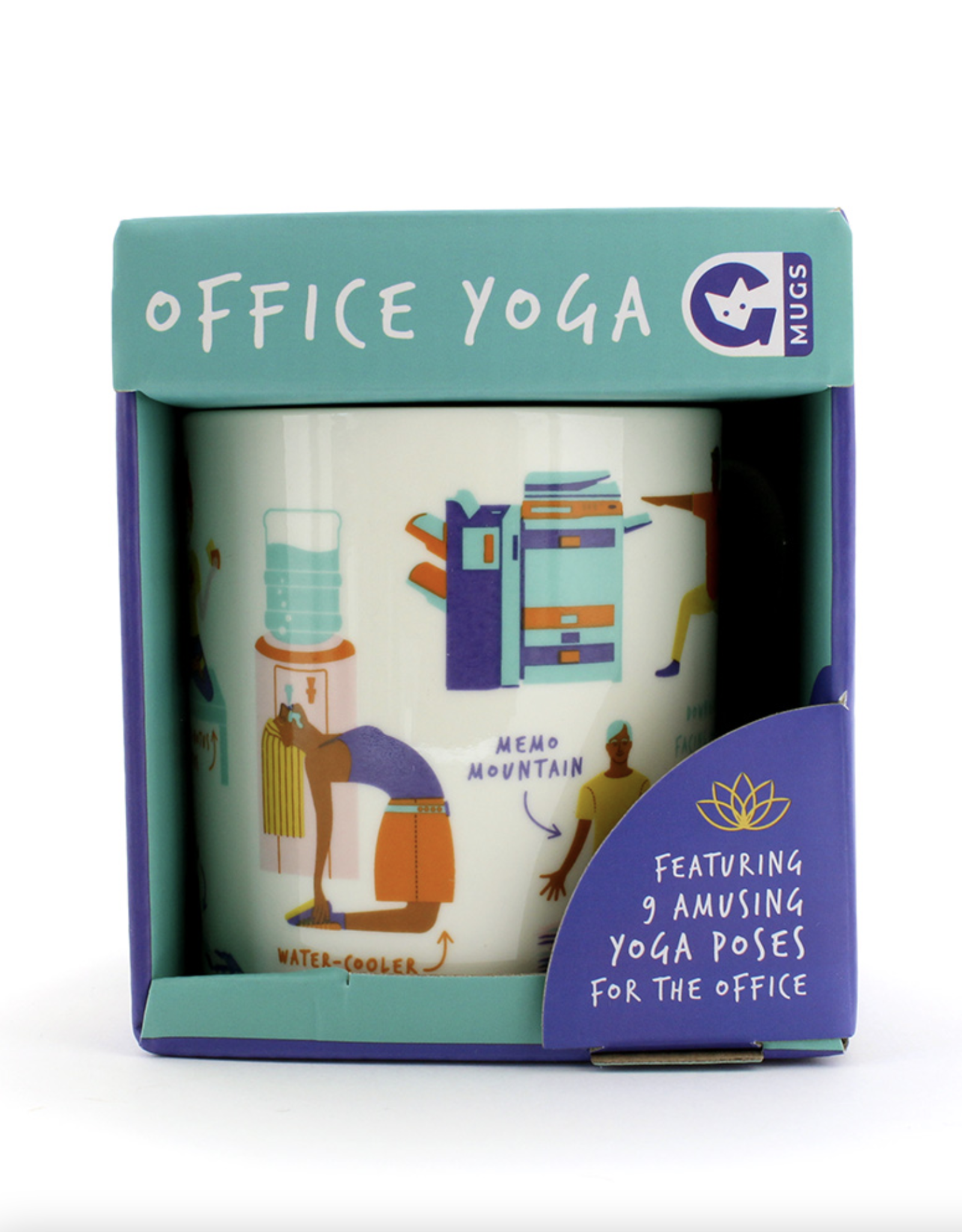 Office Yoga Mug