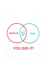 Netflix & Chill Parenting Greeting Card