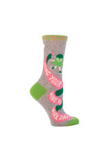 Bring Your Wine To Work Day Women's Crew Socks