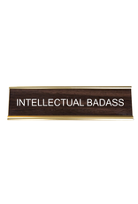 Intellectual Badass Office Sign