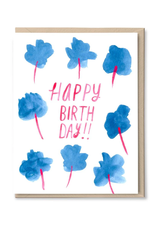 Happy Birthday Blossoms Greeting Card