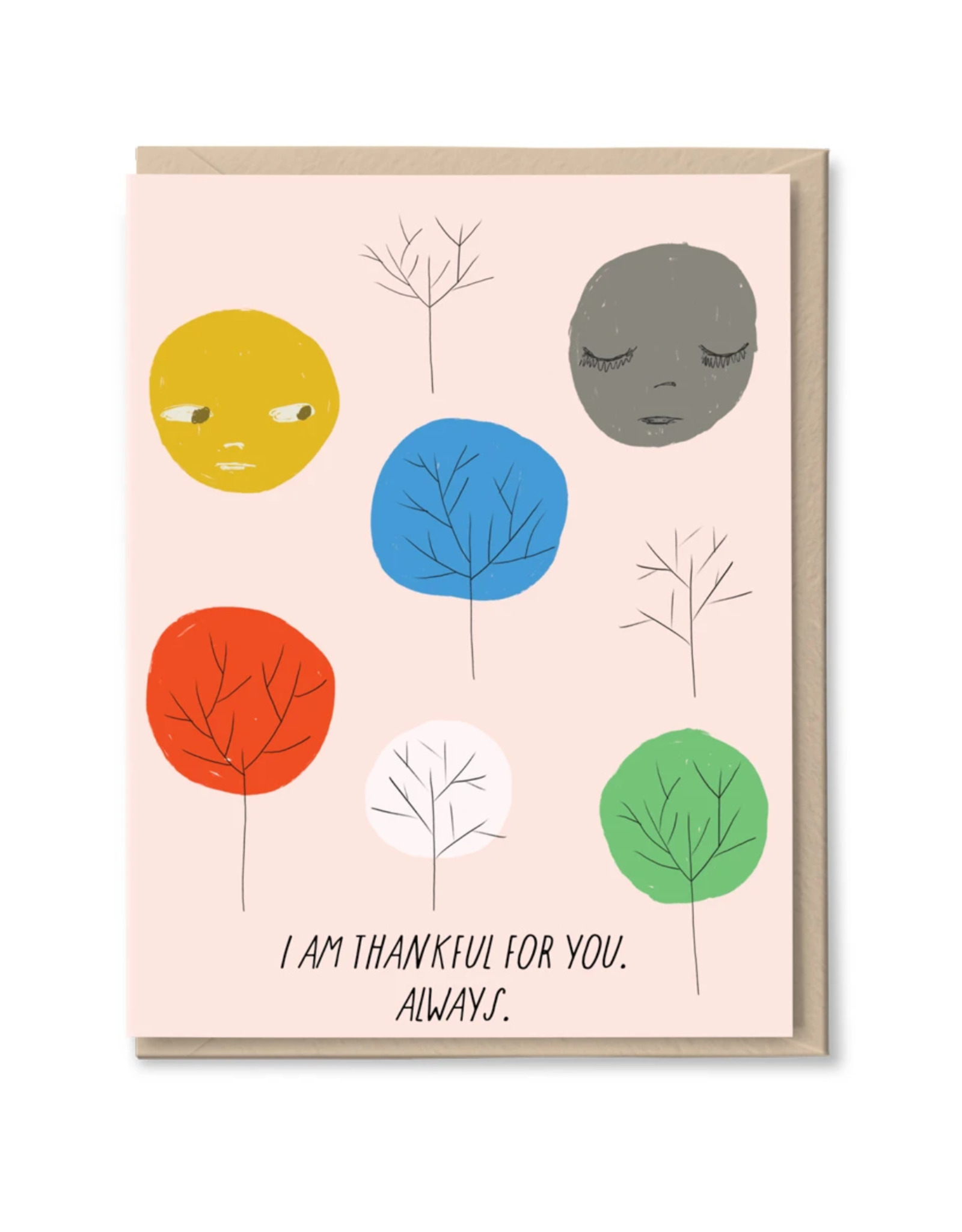 I Am Thankful For You Always Greeting Card