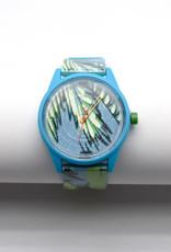 Blue Tropical Solar Watch