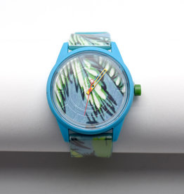 Blue Tropical Solar Watch
