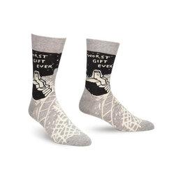 Worst Gift Ever Men's Crew Socks