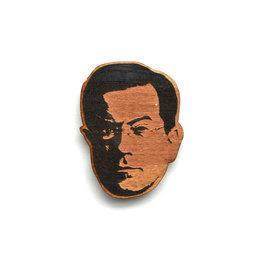 Stephen Colbert Wooden Magnet