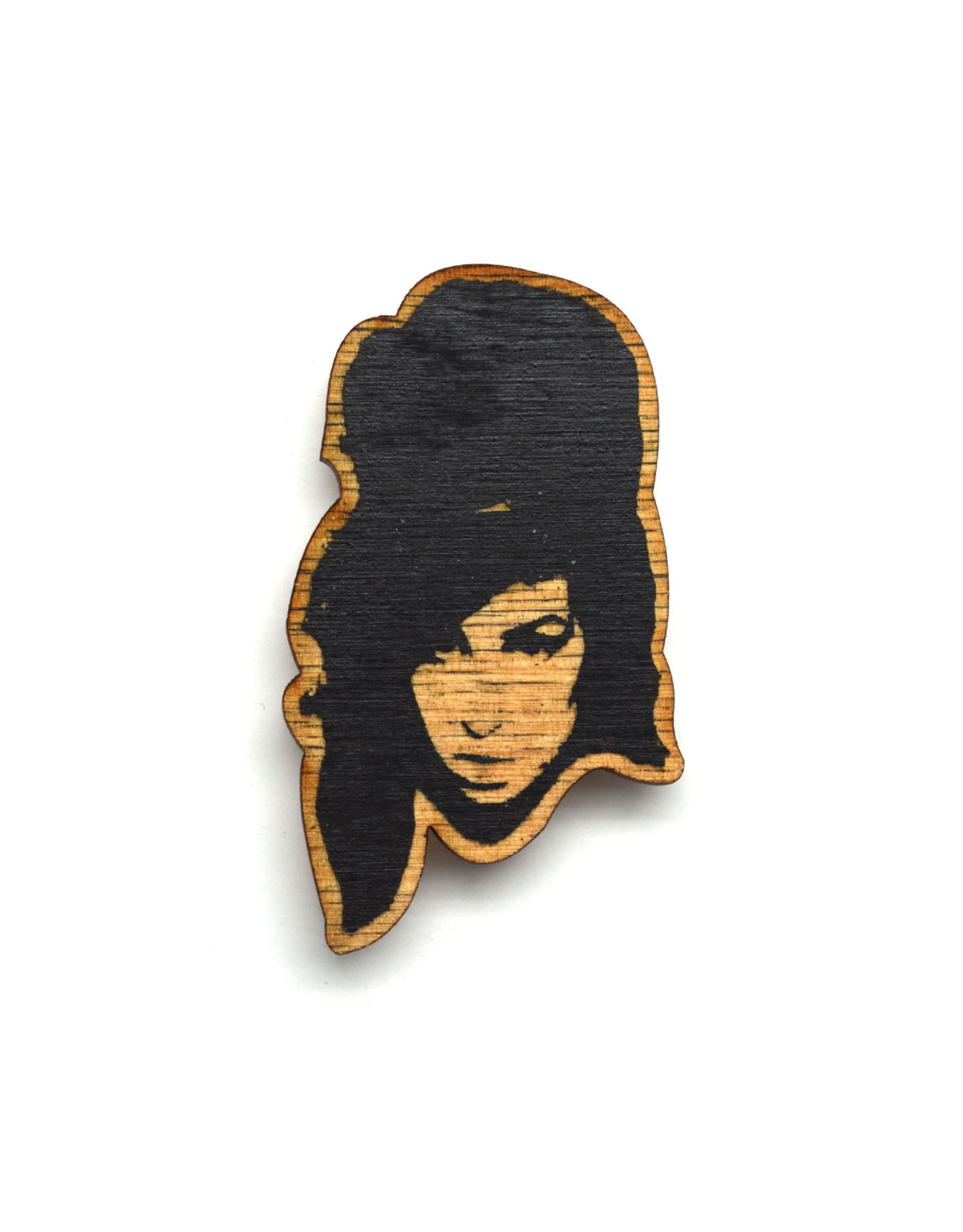 Amy Winehouse Wooden Magnet