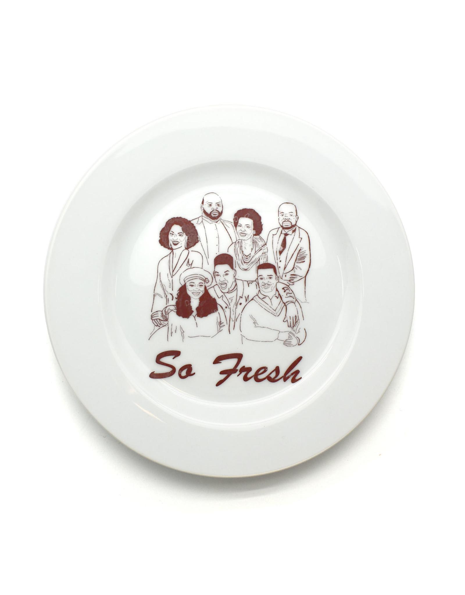 "Fresh Prince ""So Fresh"" Plate"