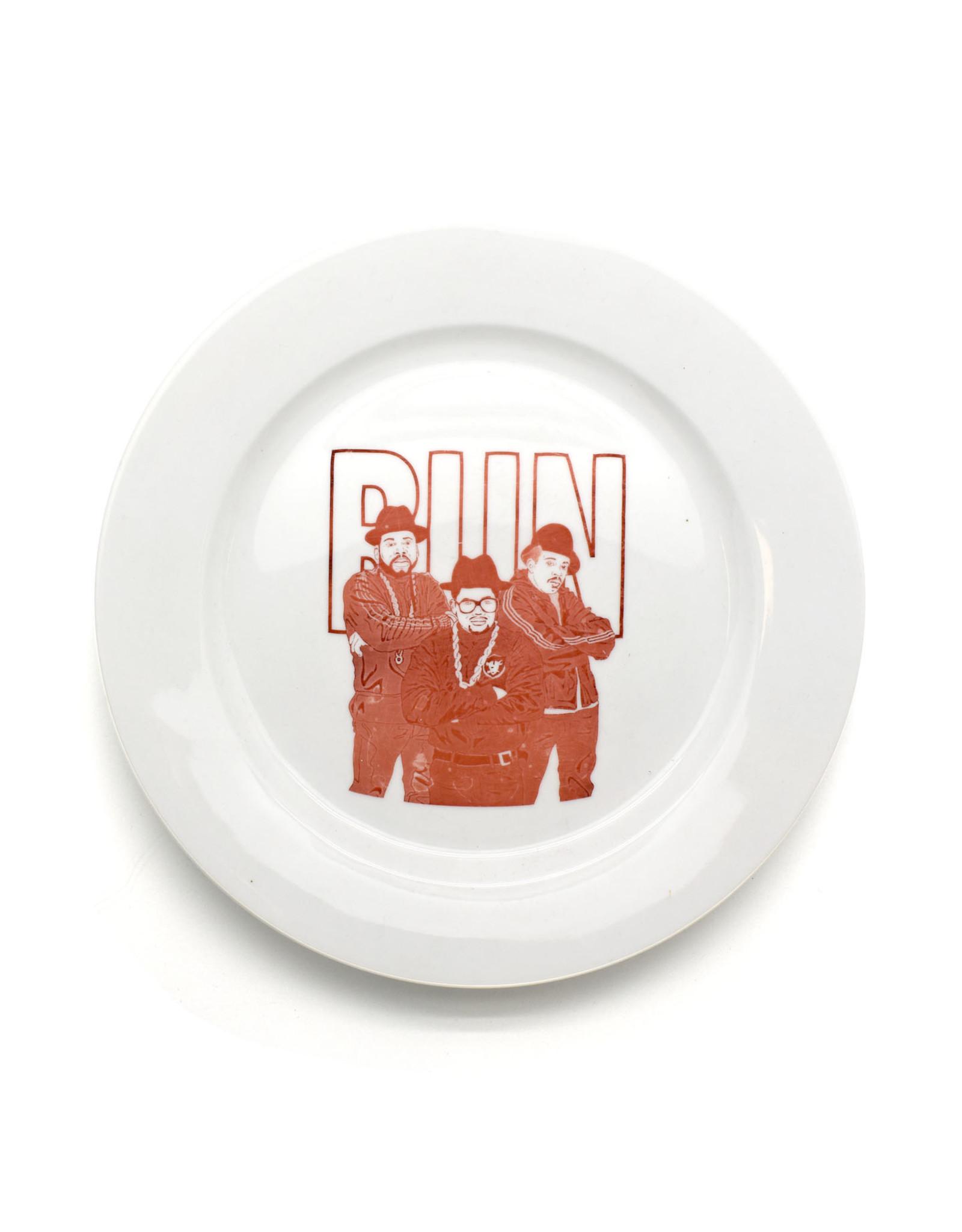 RUN DMC Plate