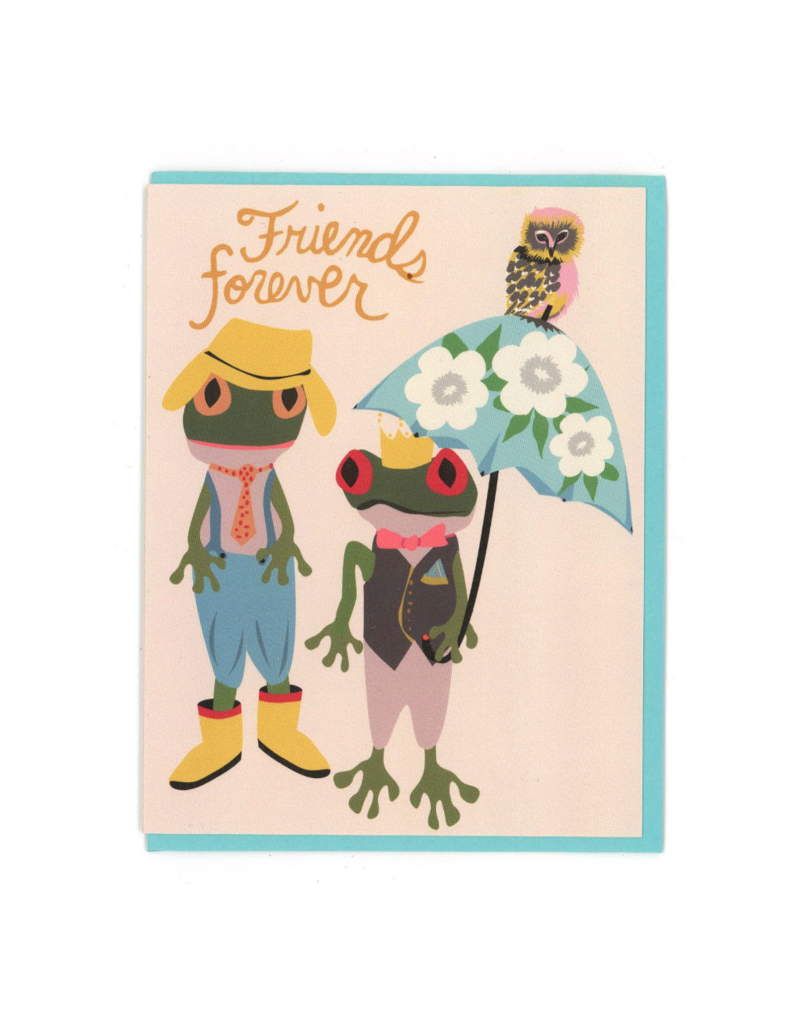 Friends Forever Frog & Toad Greeting Card